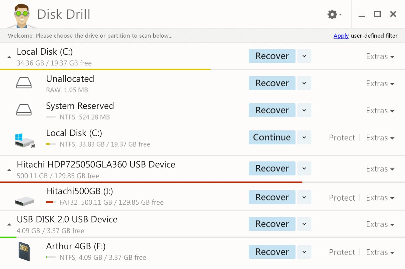 Disk Drill 5 free data recovery software