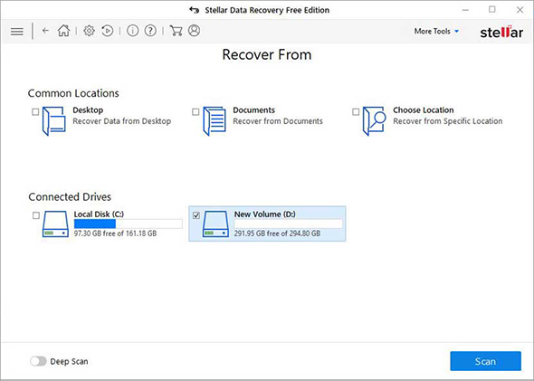 Stellar Data Recovery Free Edition